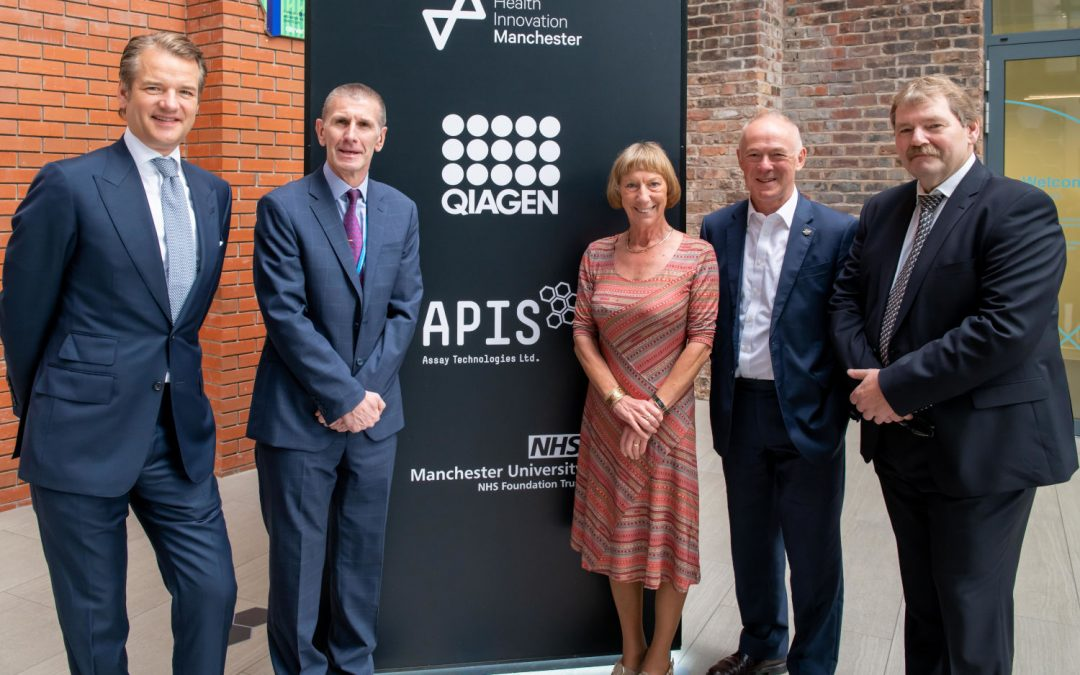 Next generation molecular diagnostics business launches at Manchester's health innovation campus