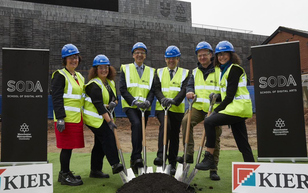 Construction Work Begins On Manchester Metropolitan University's £35M School Of Digital Arts Facility